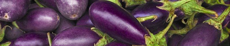 aubergine, eggplant, melanzana, different names for a tasty veg