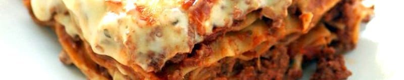 lasagne is an excellent comfort food that often tastes even better the day after it is prepared