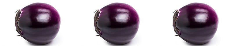 the unbearable roundness of being aubergine aka melanzana