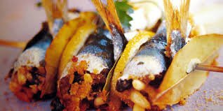 sarde beccafico fish
