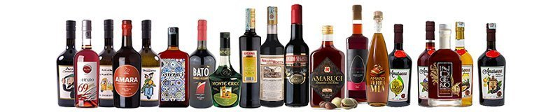 Amaro is a bitter after dinner liquor now with a range of excellent Sicilian products