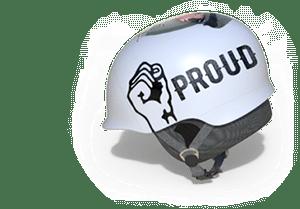 proud helmet