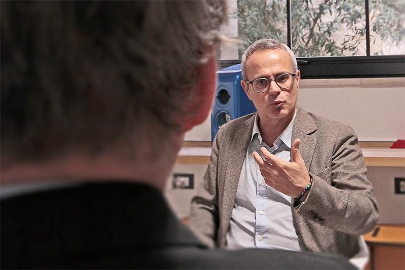 Alberto Samonà interviewed
