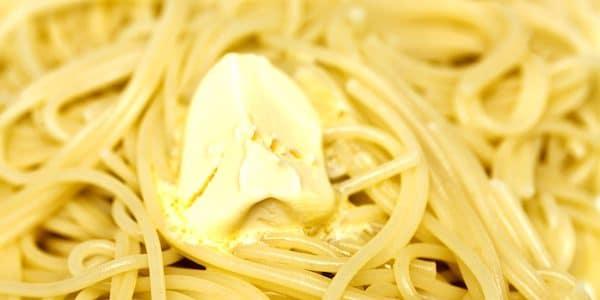 pasta in bianco, Monday food